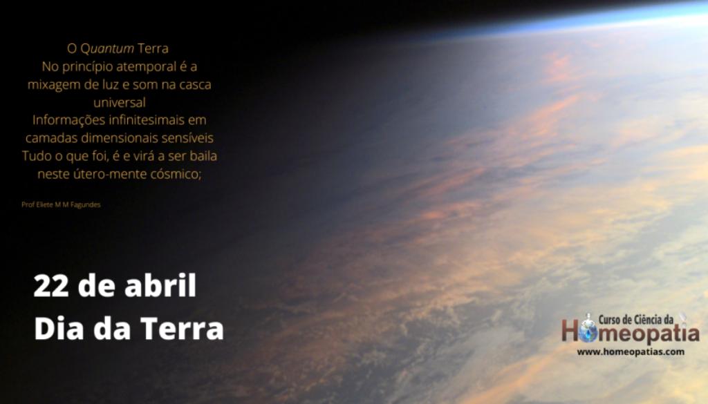 22 de abril- Dia da Terra IBH